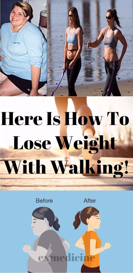 Here Is How To Lose Weight With Walking!