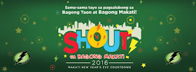 "Makati ""Shout"" New Year's Eve Countdown 2016"