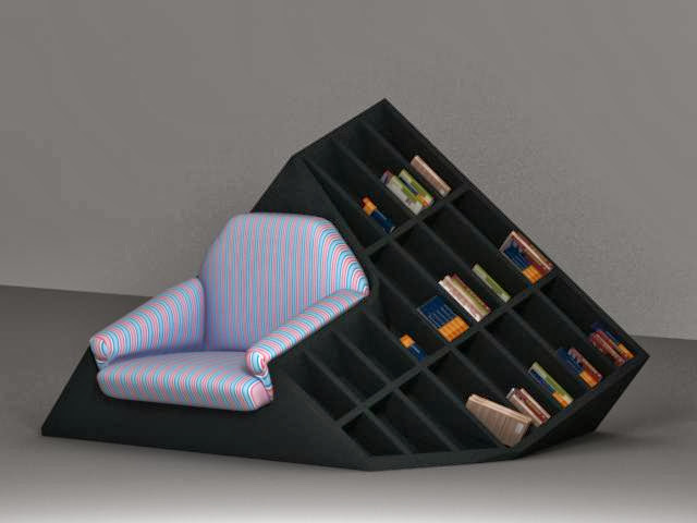 Innovative Bookshelves and Coolest Bookcases (15) 10
