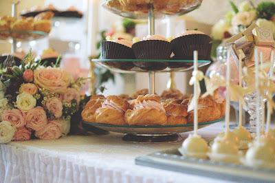Corner dulce para boda
