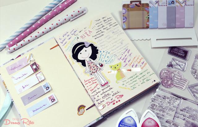 Caderno viajante Donna Rita