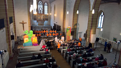 Kindermusical in der Reglerkirche Erfurt