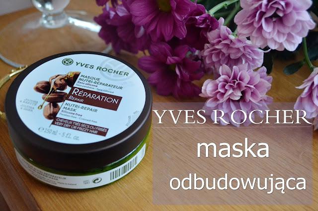 Yves Rocher, maska odbudowująca do włosów - recenzja