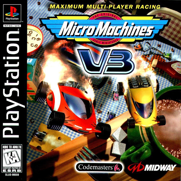 Micro Machines V3 - PS1 - ISOs Download