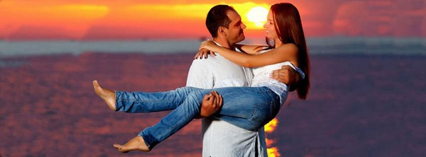 Cute Couple Facebook Cover HD Picture