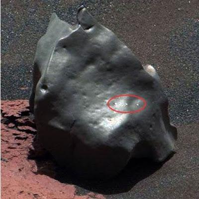 Objeto estranho encontrado em Marte pelo curiosity