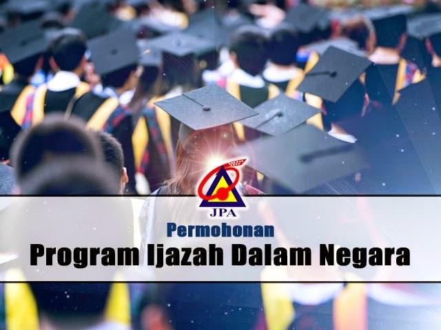 JPA Permohonan Program Ijazah Dalam Negara (PIDN)