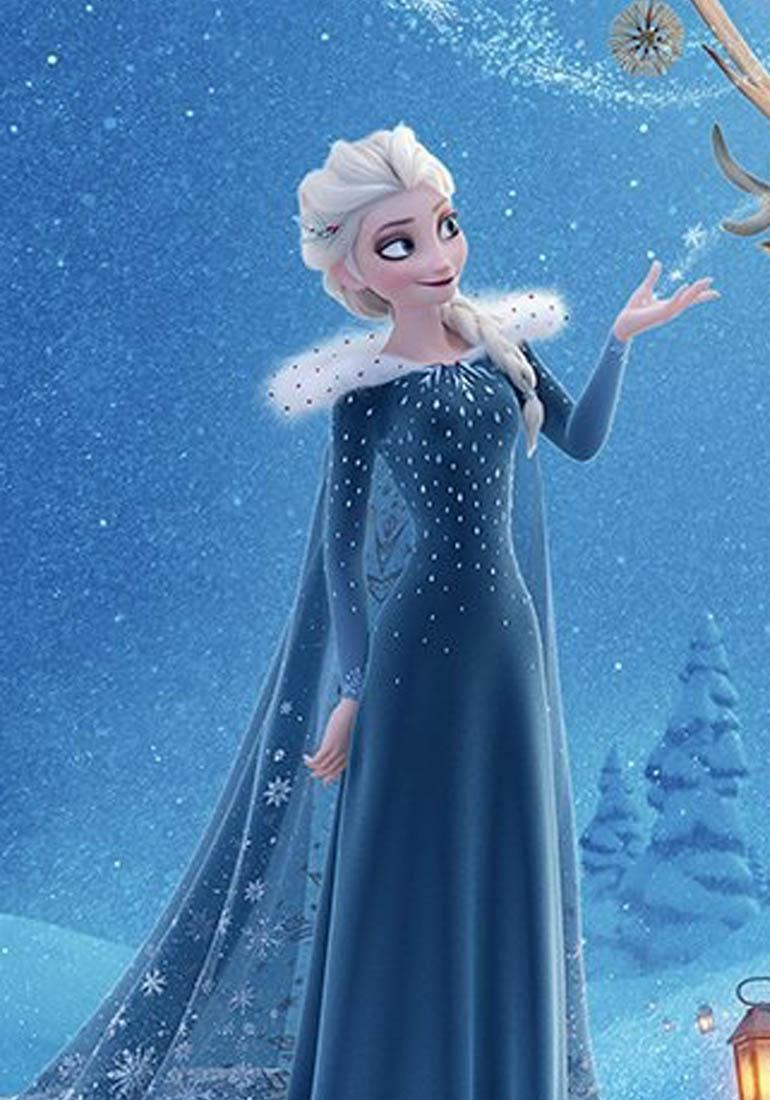 Imagens Frozen Uma Aventura Congelante Ele dicas congelantes: novo vestido da elsa - olaf em uma nova
