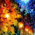 Landscape Oil Painting By Leonid Afremov