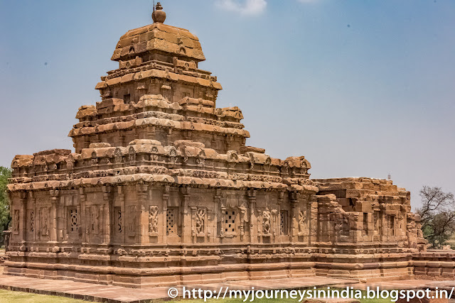 Pattadakal Sangameshwara Temple Tower