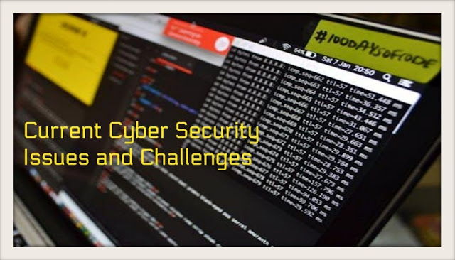 Current Cyber Security Issues and Challenges