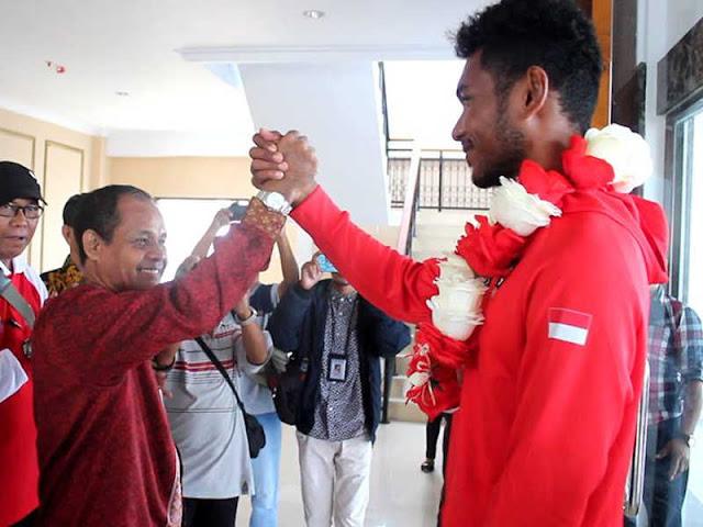 Raih Perak di Asian Games 2018, Pemkab SBB Sambut La Memo