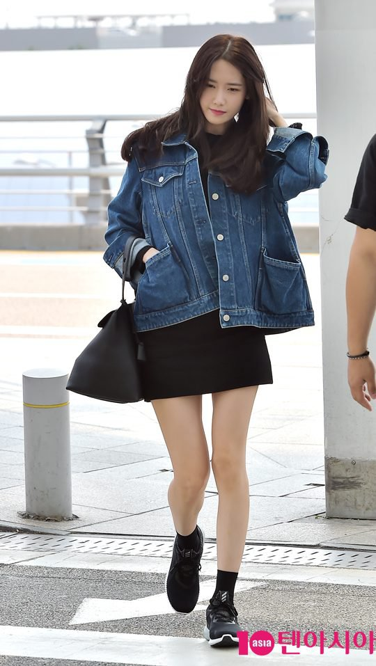 Snsd Yoona Charms In Her Comfy Airport Fashion Iamkpopped
