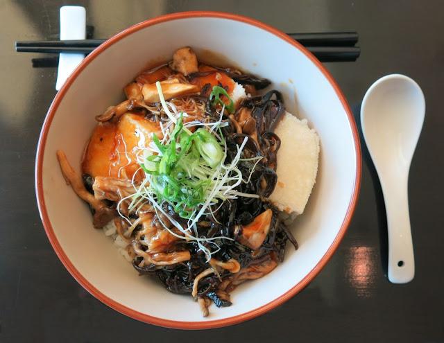 Miyako Japanese Cuisine & Teppanyaki, mushroom and tofu
