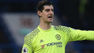 Transfer Latest! Chelsea Reject £35m Offer From Real Madrid For Thibaut Courtois