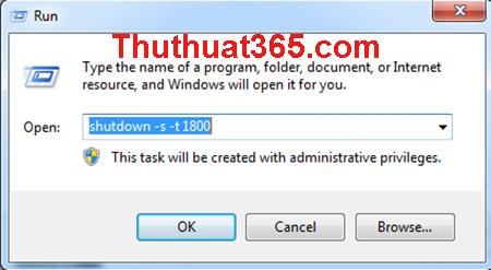 Cách hẹn giờ tắt máy tính đơn giản nhất