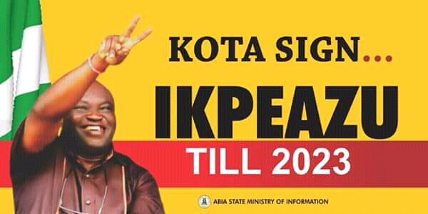 A right of reply: Ikpeazu has done well in Abia state