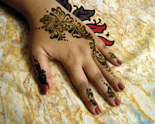 Casual Mehndi Designs