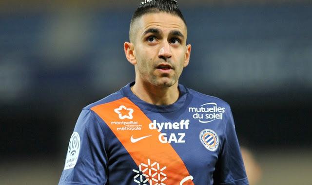رياض بودبوز، أحسن لاعب في نادي مونبلييه خلال شهر سبتمبر
