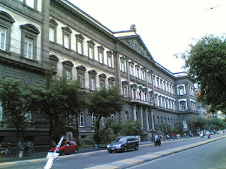 The main building at the University of Naples Federico II