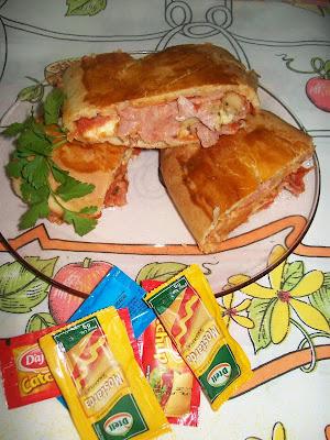 Receita de Pizza Enrolada
