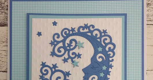 Sweet Dixie Moon Card by Teresa Morgan