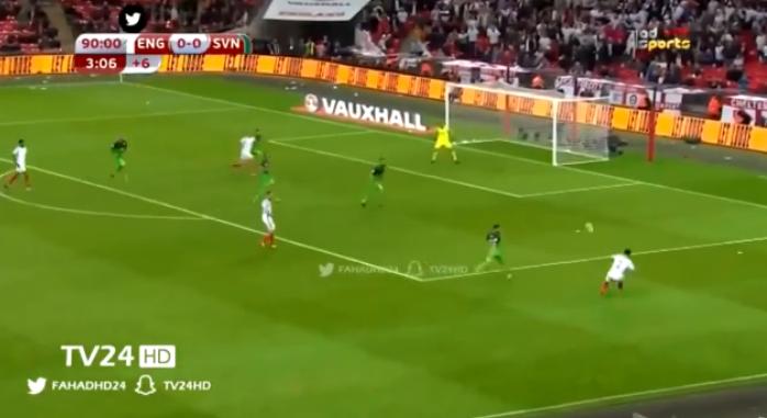 فيديو : انجلترا تفوز على سلوفينيا بهدف نظيف فى الوقت القاتل  الخميس 05-10-2017 فى تصفيات كأس العالم 2018: أوروبا