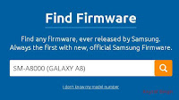 Flash Stock Firmware On Samsung GALAXY A8 SM-A8000