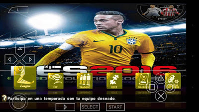 Game PPSSPP PSP ISO PES 2016-2017 MX FUXION Patch By Jose