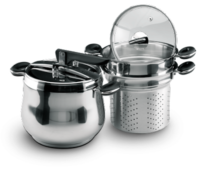 OX-1060F Oxone  Pressure Cooker 5in1