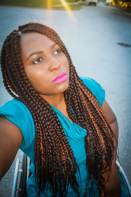 The Do It Yourself Lady Diy Box Braids I Did With