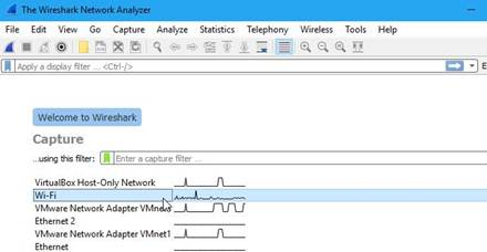 WireShark - Capturer les Paquets