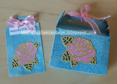 Challenge #368 bag or box with matching tag