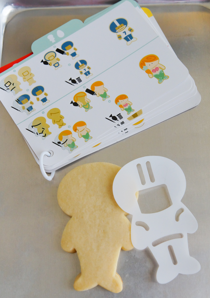 Sugarbelle cookie cutter and stencil - football