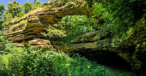 Natural Bridge State Park North Freedom Wi