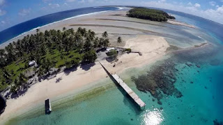 Majuro Atoll in the Marshall Islands (Photo Credit: AP) Click to Enlarge.