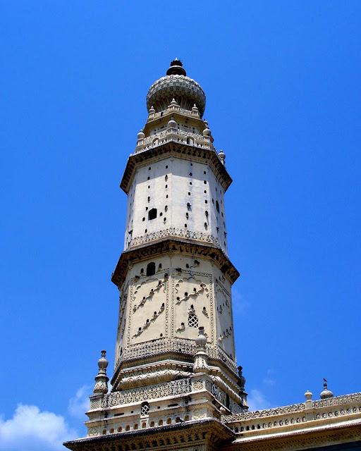 minaret tipu's mosque srirangapatnam india