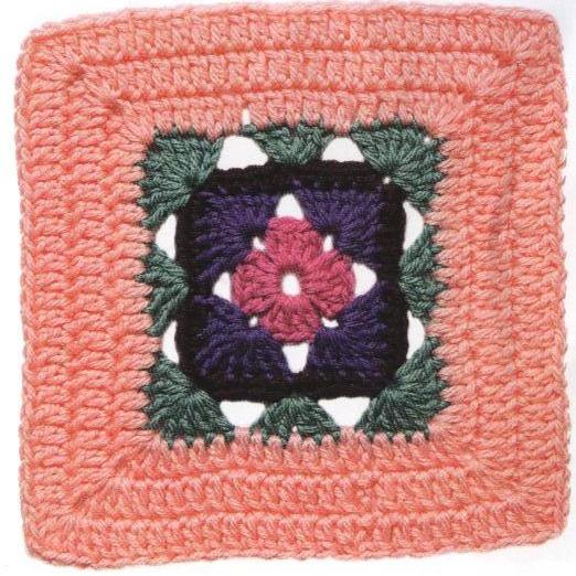 Patrón #1601: Anemona a Crochet