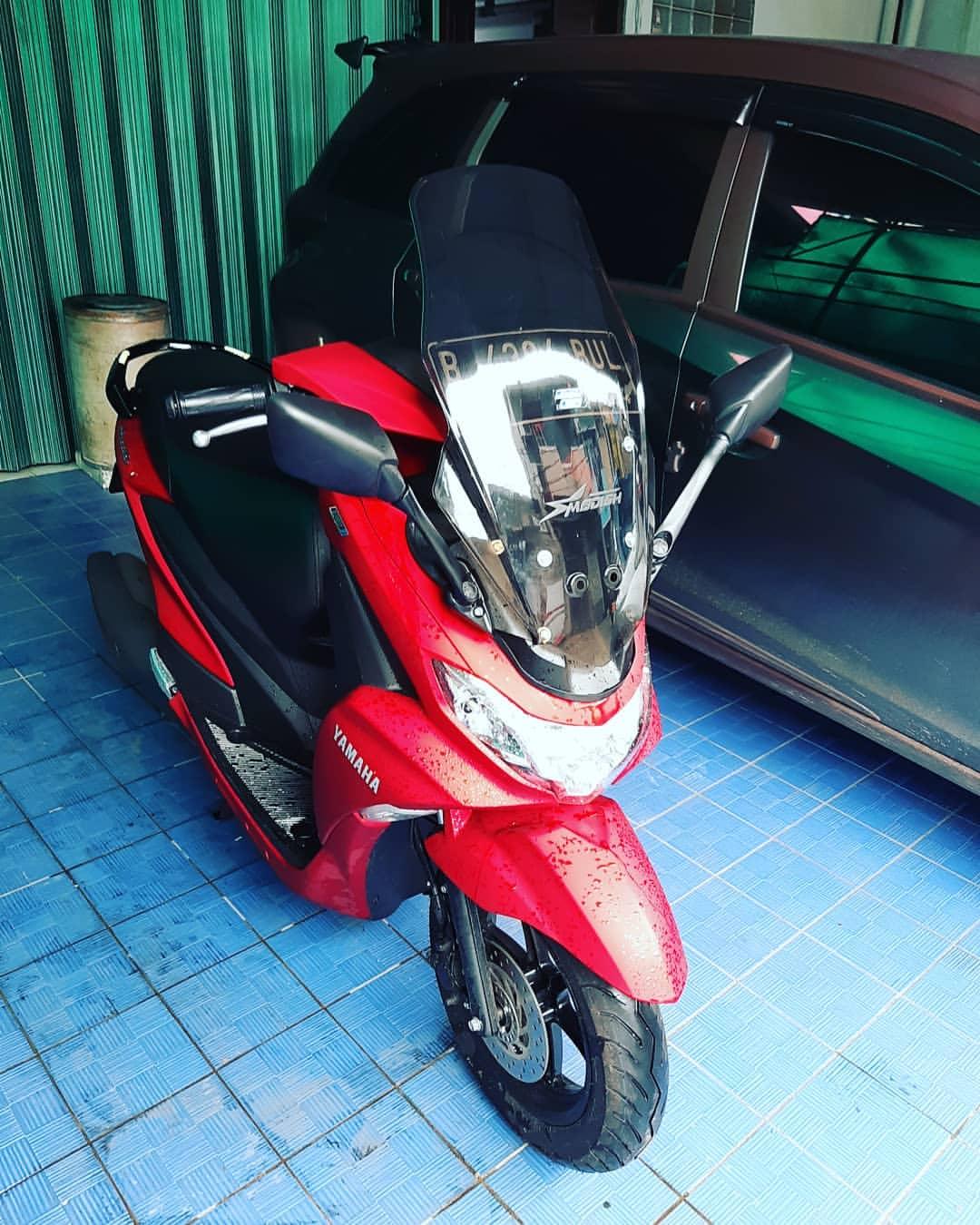 Bengkel Otomotif Modifikasi Yamaha Freego Pakai Setang Yamaha Lexy