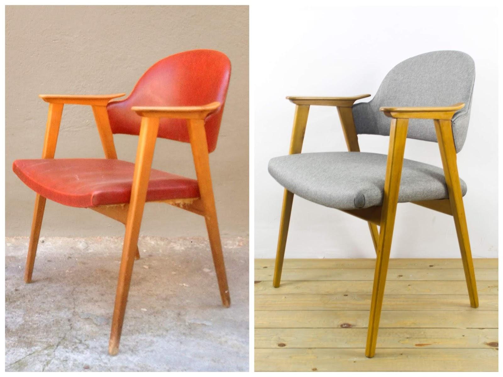 Antes y después - Butaca de estilo nórdico - Studio Alis