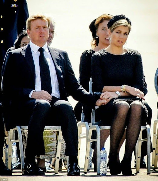 Queen Maxima attended a ceremony for the victims of downed Malaysia Airlines flight MH17