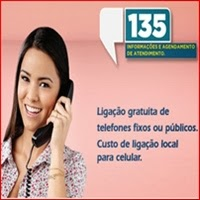 Central 135 do INSS, Previdência