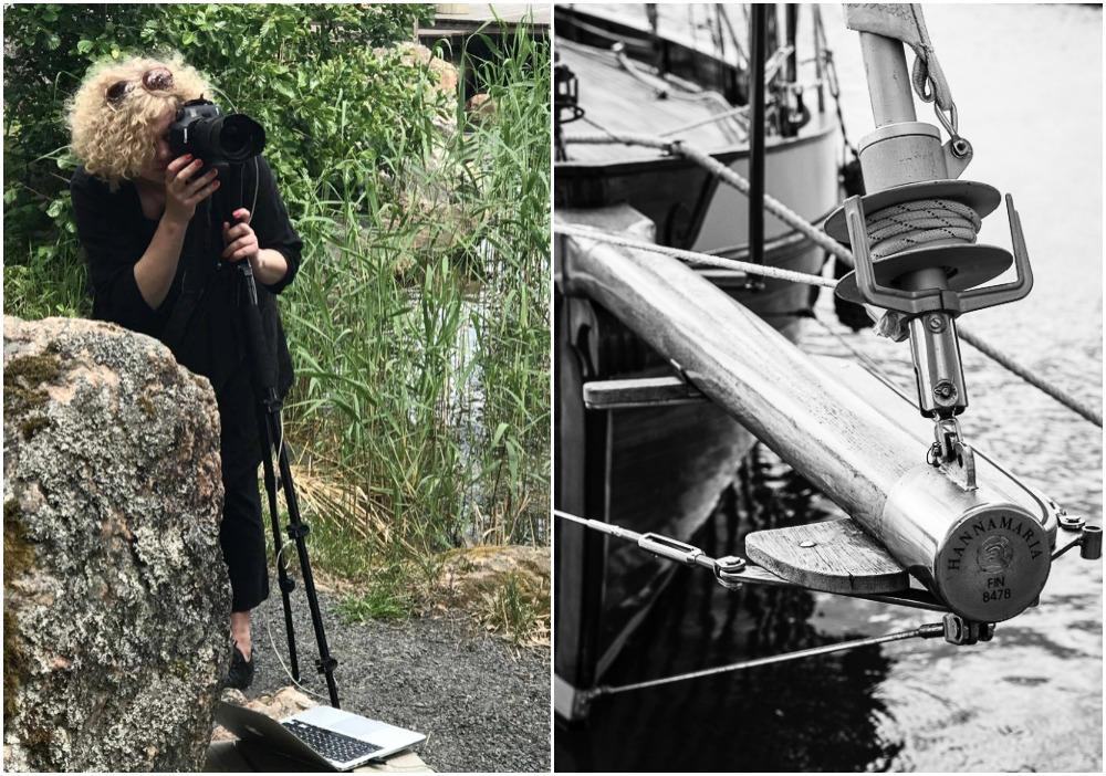 Luvia, suomi, maisema, valokuvaus, photoshoot, valokuvaaja, Frida Steiner, meri, finland, scenery, behind the scenes