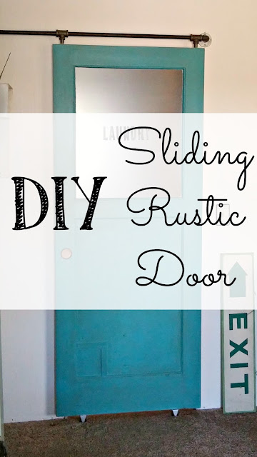 DIY a rolling barn door