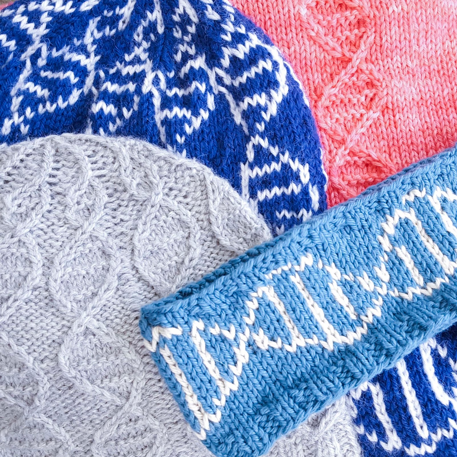 ChemKnits: The GENEie Collection of DNA Beanie Hats