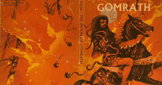 The Moon of Gomrath, by Alan Garner | a pile of leaves
