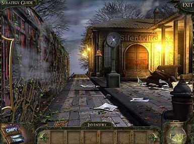 Game Pertualangan Seram: 1 Moment of Time Silentville