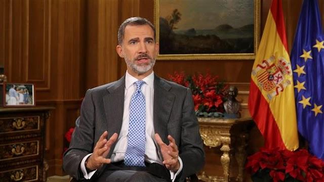 Spanish King Felipe VI urges Catalonia to avoid confrontation, respect plurality