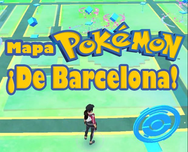 Pokemon Go Mapa Barcelona.Pokemon Go Mapa De Barcelona Fanappticos