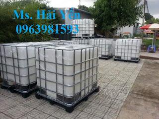 Cung cấp bồn đựng hóa chất, tank nhựa 1000 lít, thùng chứa 1000 giá rẻ